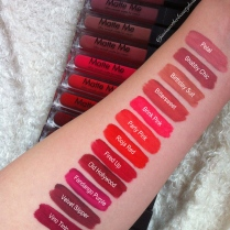Sleek all swatches