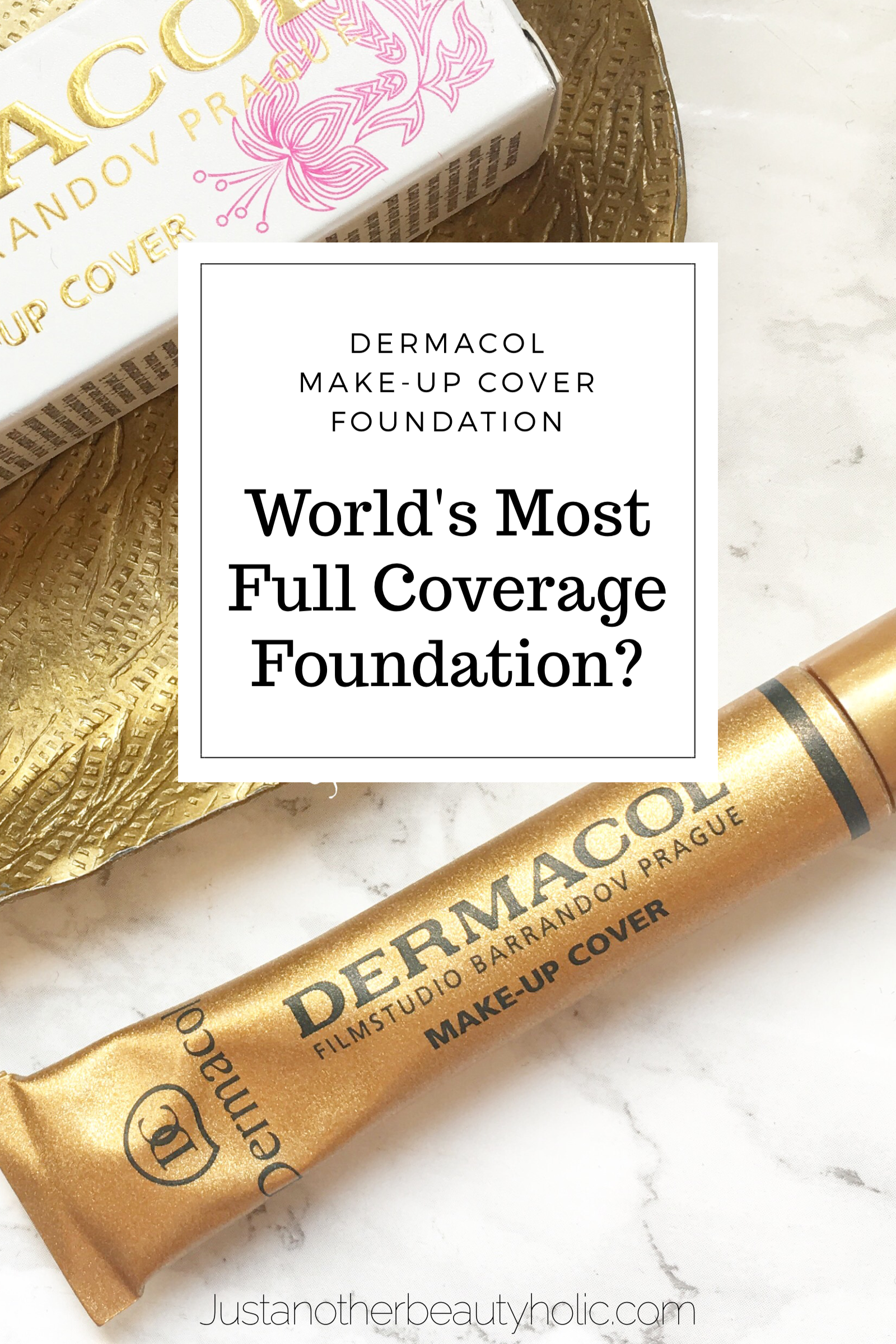 Dermacol Make Up Cover Foundation Review World S Most Full Coverage Foundation Tested